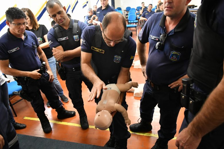 Guarda Municipal recebe treinamento de primeiros socorros