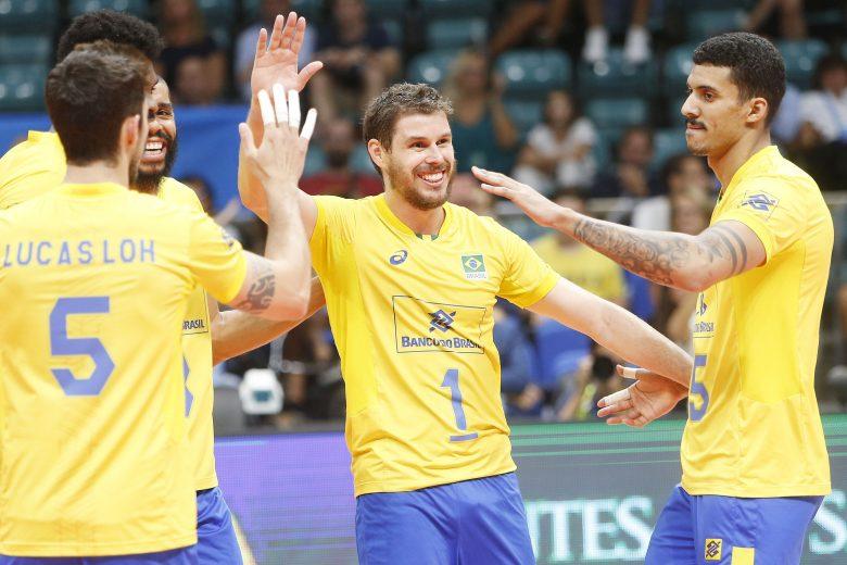 Brasil enfrenta a Rússia e os EUA em 3ª fase do Mundial de vôlei masculino