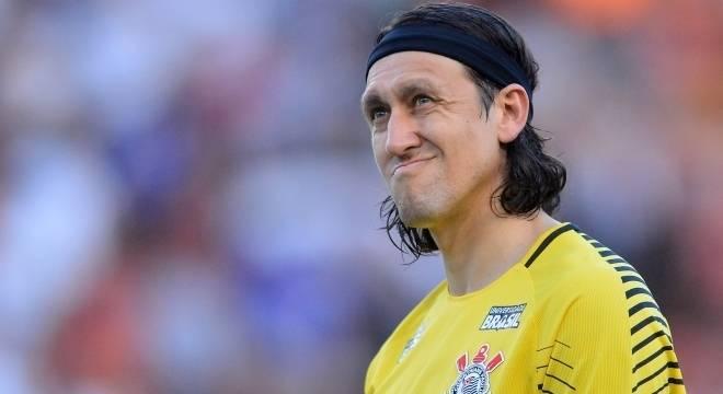 Goleiro Cássio vai desfalcar o Corinthians pelo segundo jogo consecutivo