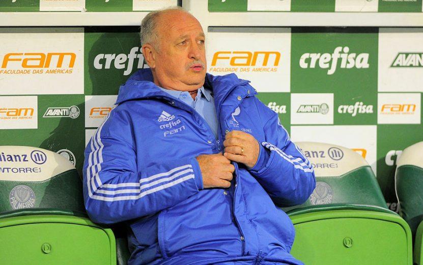 Em alta no favorito Palmeiras, Felipão reencontra o Corinthians