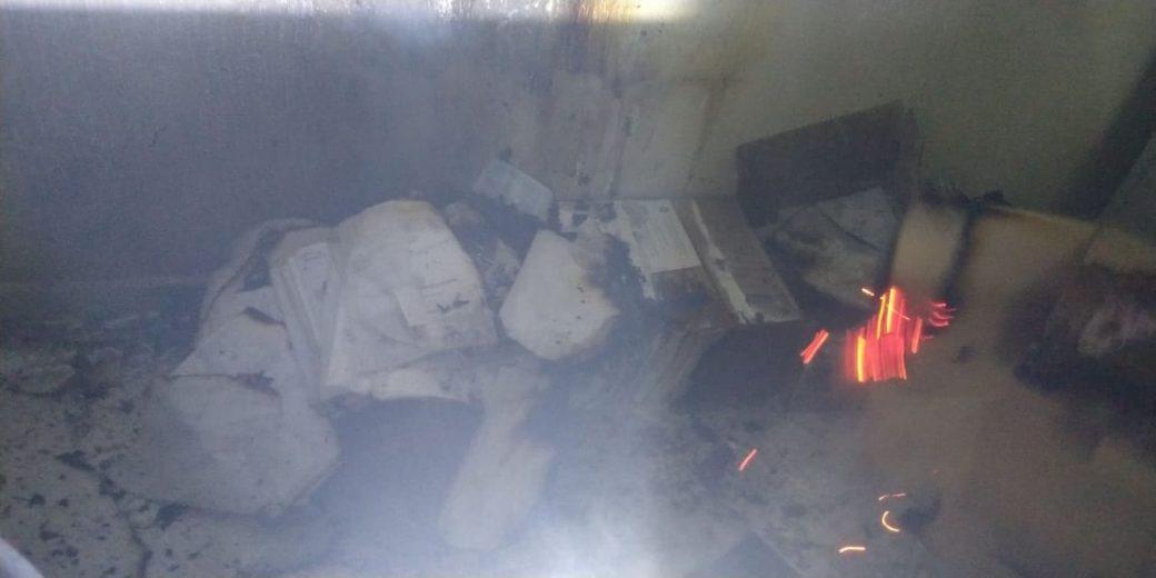 Polícia prende acusado de atear fogo em setor da Prefeitura de Cruzeiro do Oeste