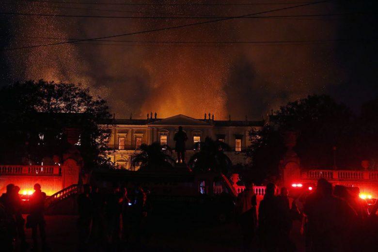 Incêndio no Museu Nacional durou oito horas