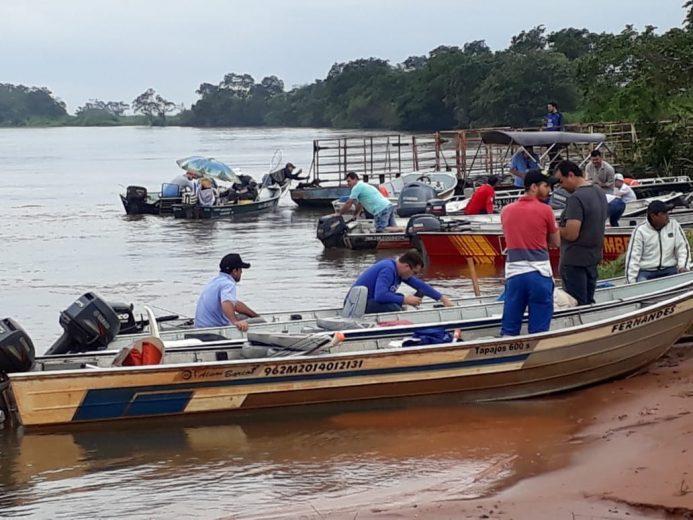 Mesmo com chuva, Pesca ao Piauçu foi realizada em Altônia
