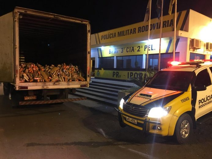 Umuarama era destino de caminhão com mais de meia tonelada de maconha
