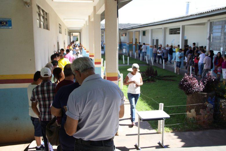 Oito urnas apresentaram problemas, mas votação foi tranquila