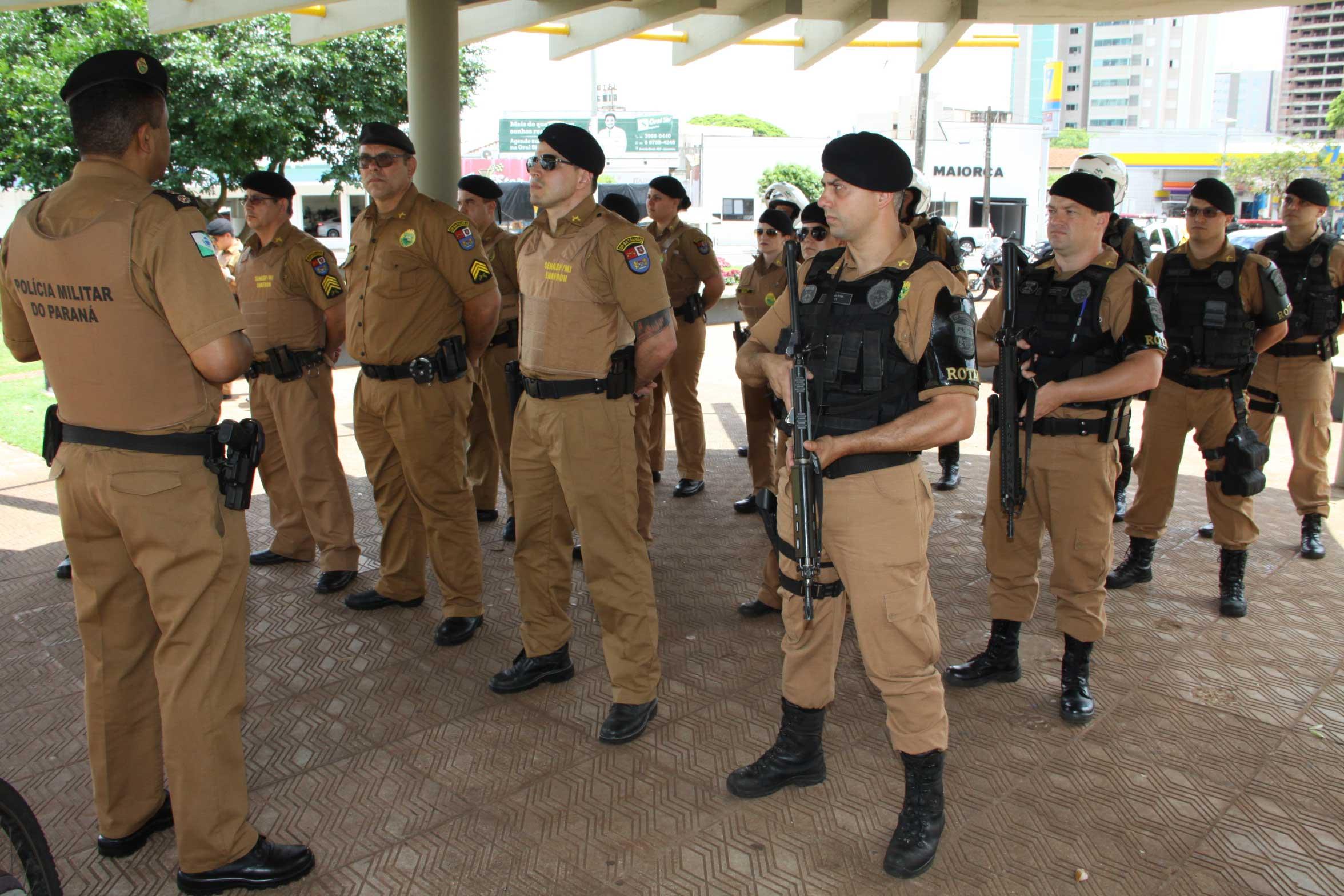Operação Natal coloca mais policiais nas ruas de Umuarama