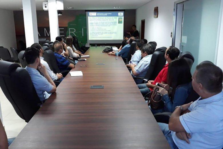Estado orienta municípios para revisão do plano diretor
