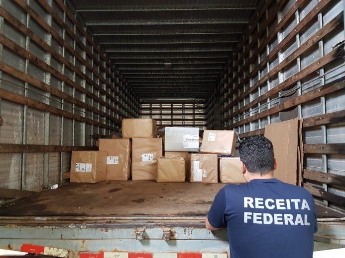 Receita Federal apreende mais de R$ 100 mil em mercadorias nos Correios
