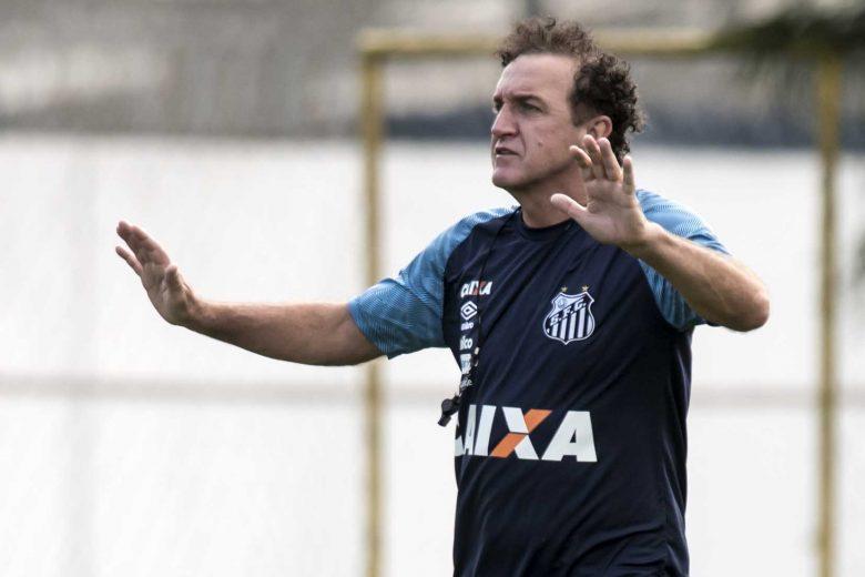 Cuca diz que G-6 não acabou para o Santos