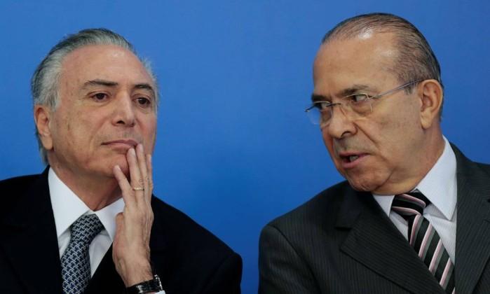PGR quer que Temer, Moreira Franco e Padilha sejam investigados