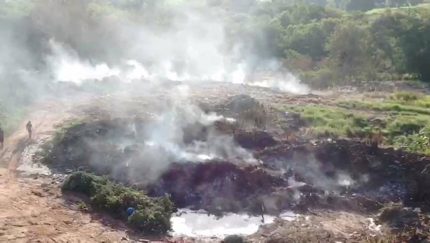 Lixão clandestino é flagrado pelo MP em Iporã