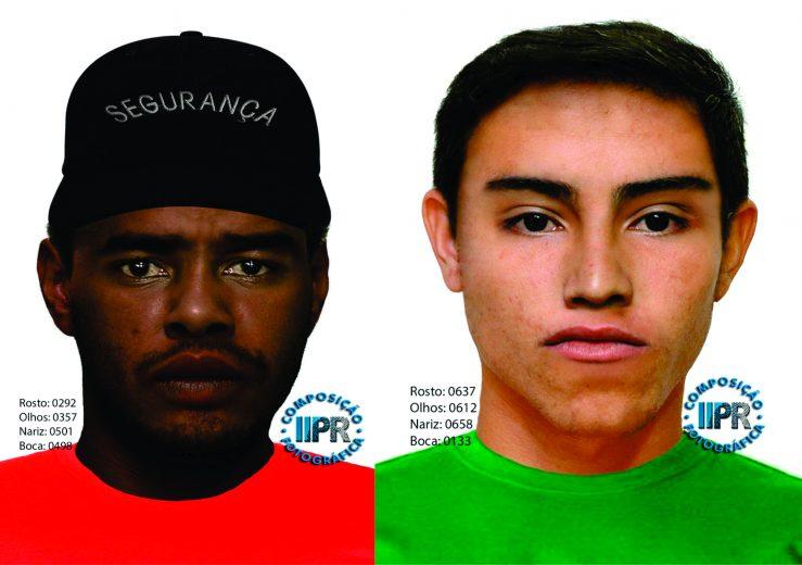 Divulgado retratos de suspeitos de participar de sequestro