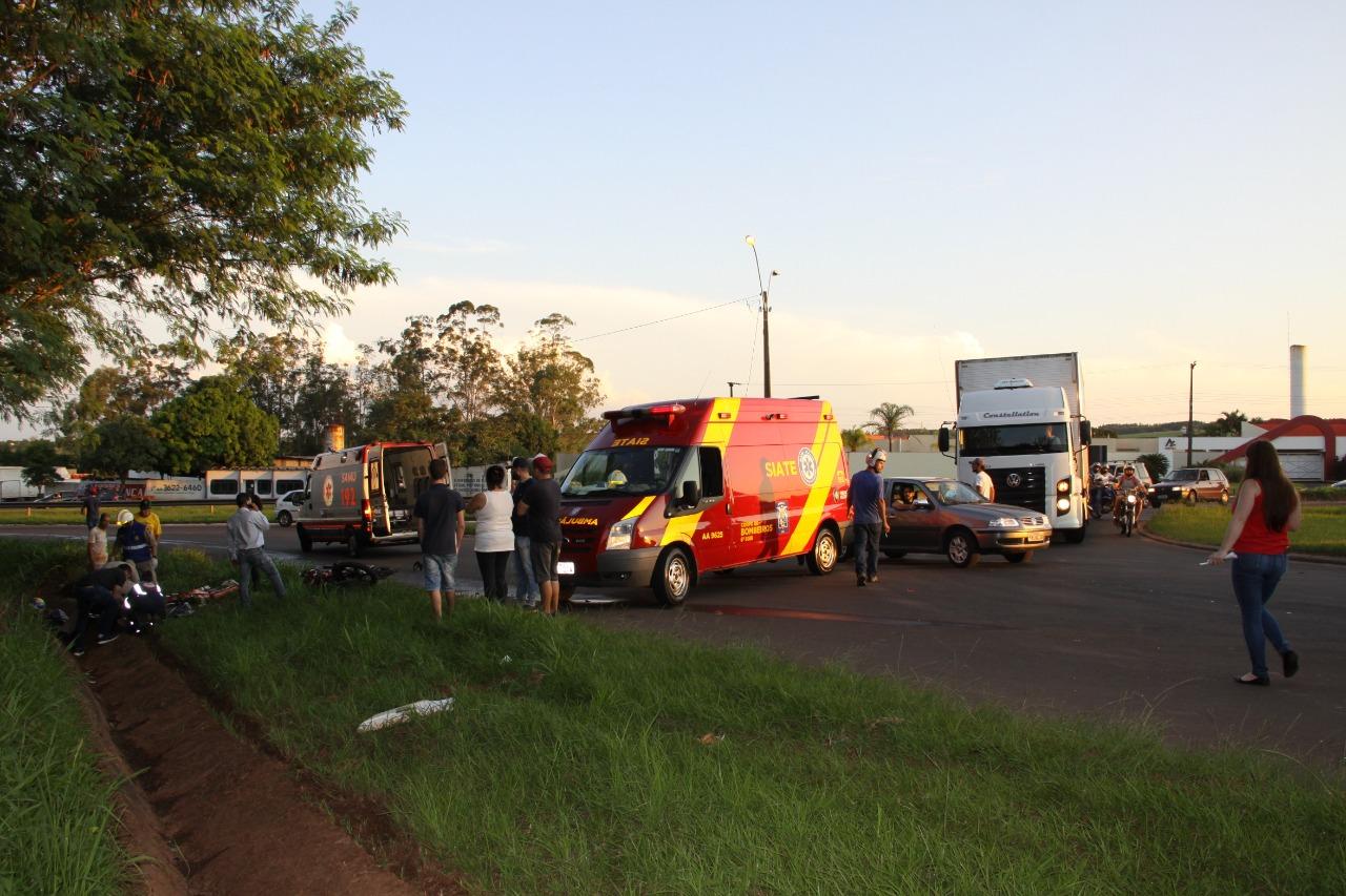 FATALIDADE Carreta desgovernada e na contramão mata 1 motociclista e fere outro na PR-323