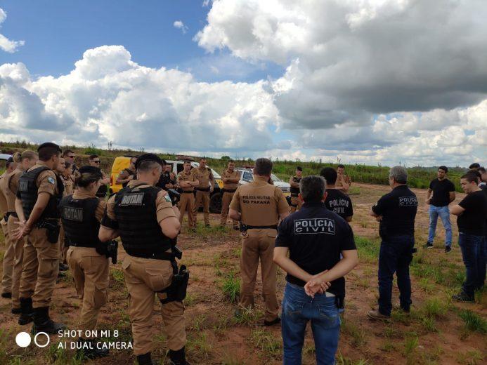 Tráfico de drogas: Polícia cumpre mandados em Alto Piquiri