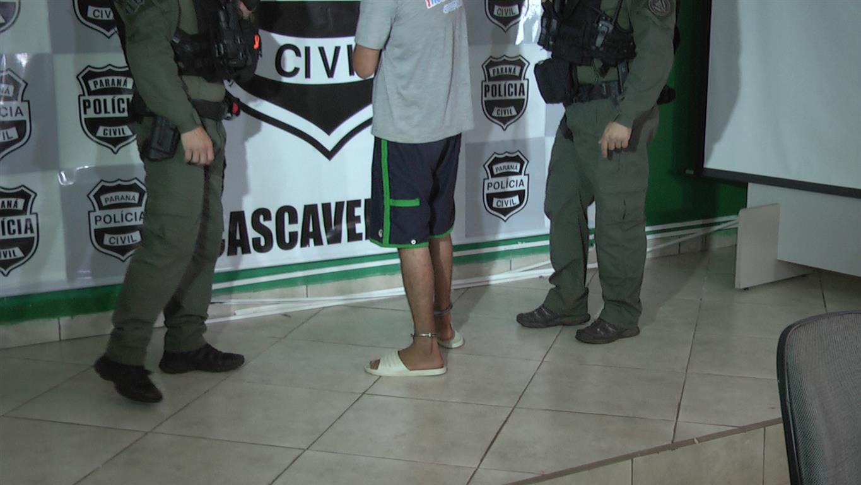 SEQUESTRO EM CASCAVEL Sequestrador é preso. Polícia busca identificar demais envolvidos