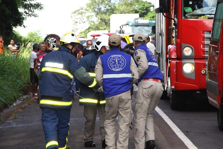 Criança vítima do acidente na PR-323 morre