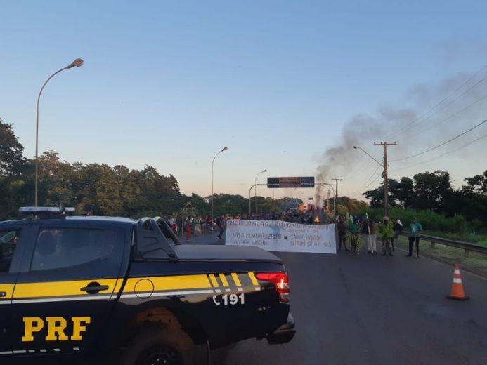 Em Guaíra, índios protestam contra municipalização de saúde