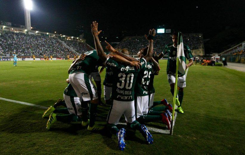 Com pênalti dado pelo VAR, Palmeiras goleia Novorizontino e vai à semifinal