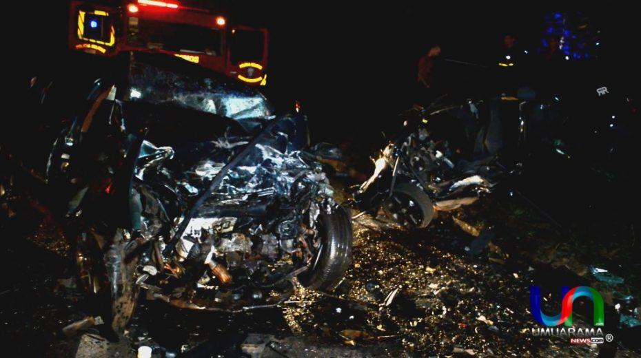 Seis pessoas morrem em grave acidente na PR-323 entre Umuarama e Perobal