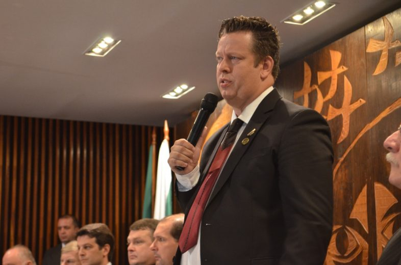 Prefeito Darlan Scalco assume presidência da AMP e quer o  fortalecimento dos municípios