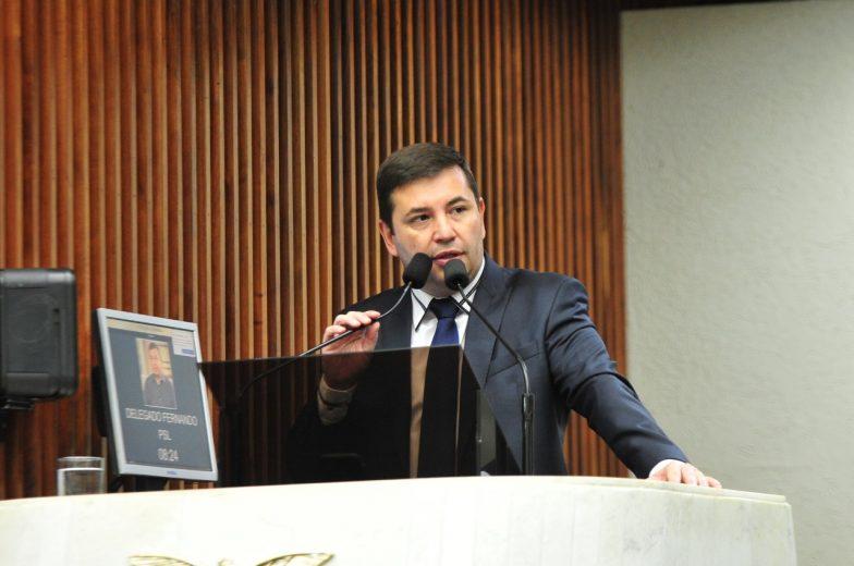 Delegado Fernando vai coordenar frente parlamentar na Assembleia Legislativa