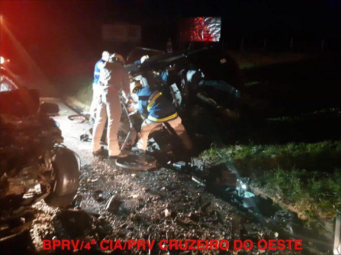 Identificadas oficialmente as 6 vítimas de colisão frontal em Umuarama
