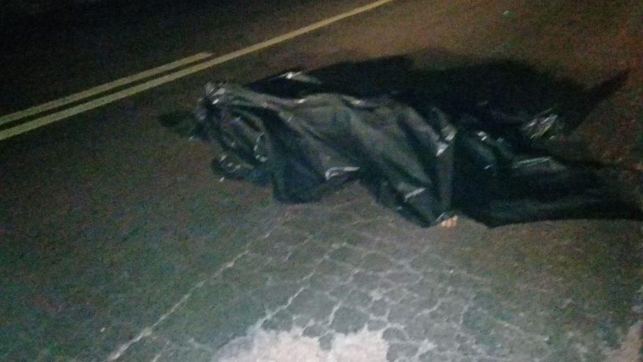 Pedestre morre atropelado na rodovia entre Umuarama e Maria Helena