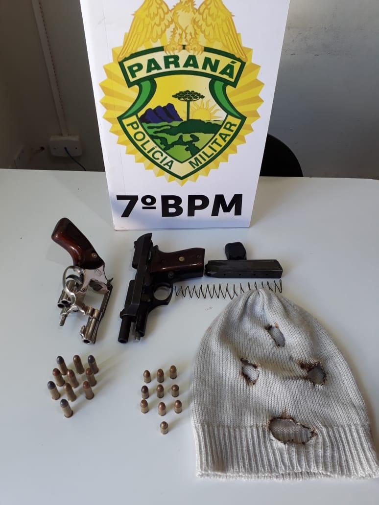 VIOLÊNCIA URBANA Ladrões são presos após realizarem  dois roubos seguidos em Tapejara