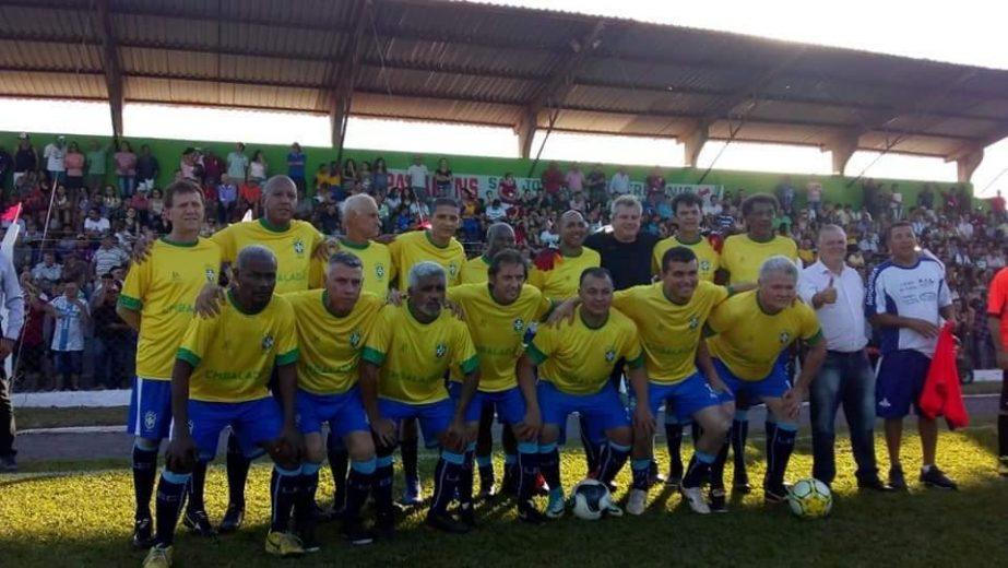 Estádio de São J. do Patrocínio recebe  jogo com estrelas para a reinauguração