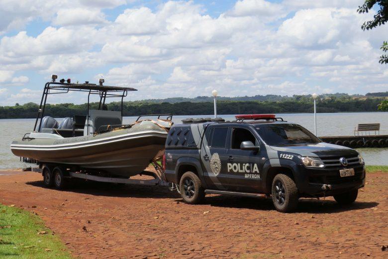 Policiamento é intensificado no Rio Paraná, em Guaíra