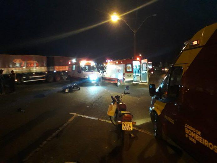 Motorista de Astra que atropelou casal na PR-323, perto do Gauchão, é preso por embriaguez