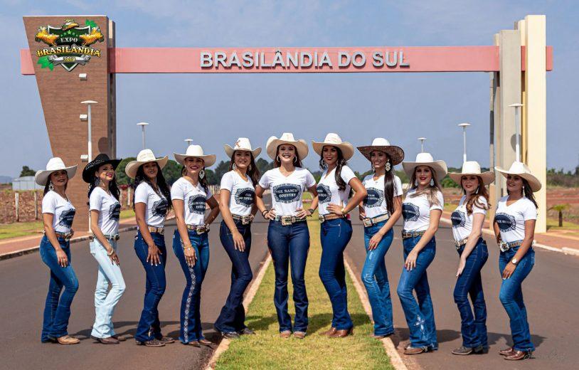 Brasilândia do Sul escolhe a Rainha da Expo que será em outubro