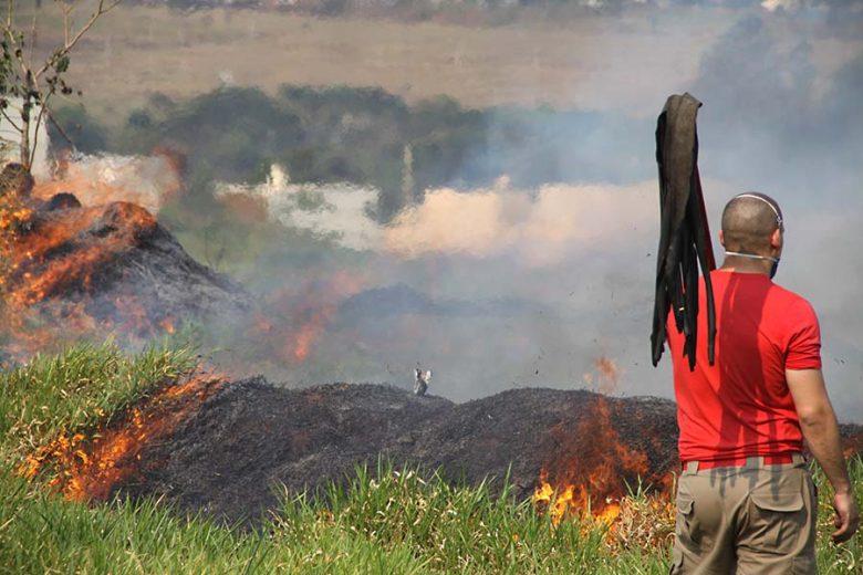 Incêndios em vegetação continuam castigando a população de Umuarama