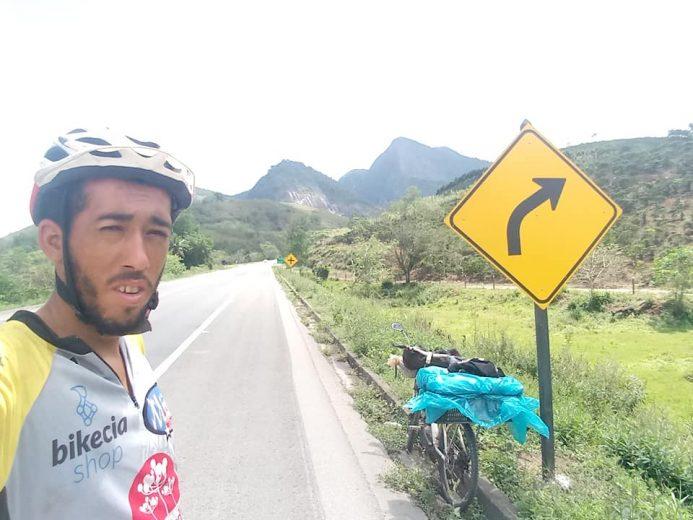 Ciclista vai pedalar mais de 20 mil quilômetros pelas capitais do Brasil