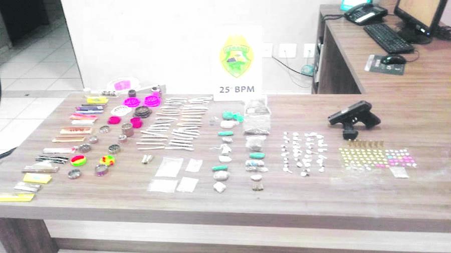 Adolescentes e drogas são encontrados em festa rave em Umuarama, diz PM