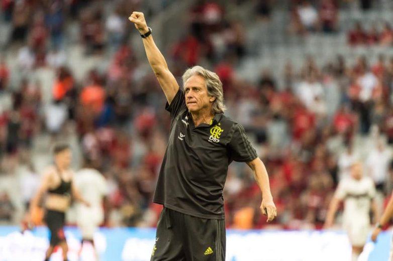 """Rouco, Jorge Jesus diz que Maracanã teve """"ambiente único no mundo"""""""