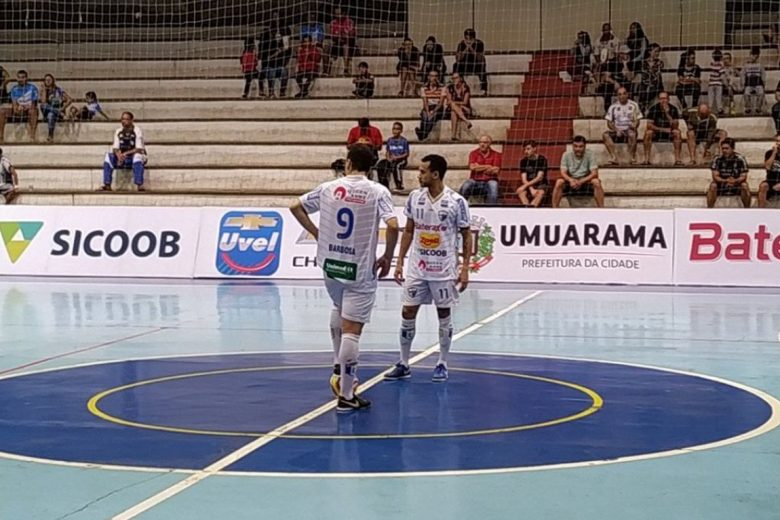 Umuarama Futsal fará primeiro mata-mata nesta quinta em casa