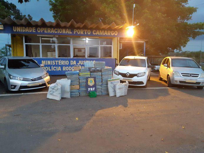 PRF prende quase meia tonelada de maconha em Alto Paraíso
