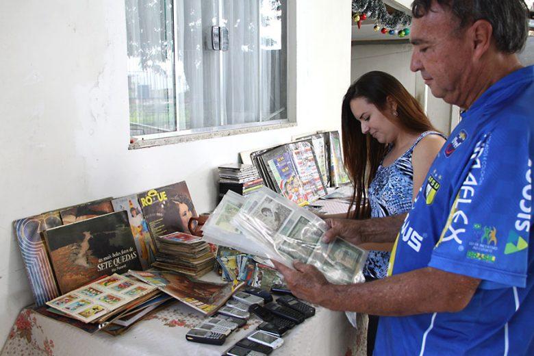 Umuaramense tem mais de 20 coleções e algumas contam a história da cidade