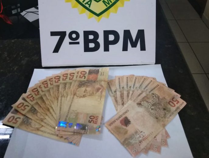 Comerciantes precisam ficar atentos ao derrame de dinheiro falso na região