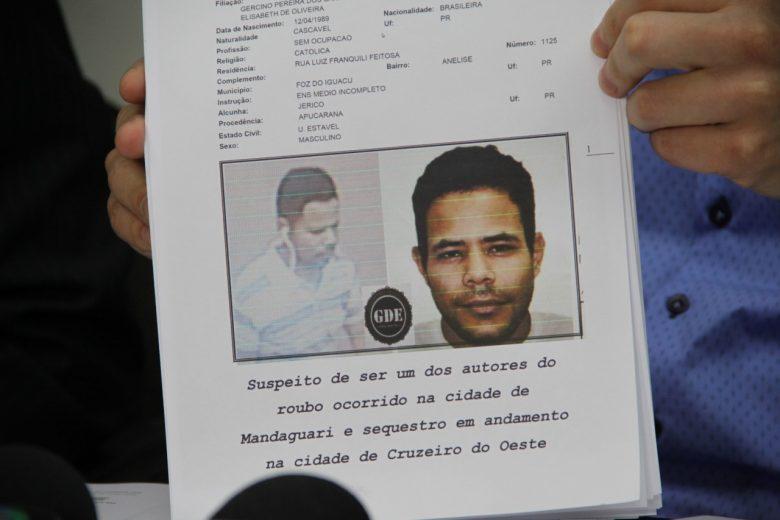 Assaltante morto pela PM em Mandaguari participou de sequestro em Cruzeiro do Oeste