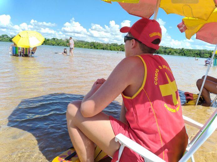 Bombeiros alertam banhistas sobre os perigos de rios e lagoas