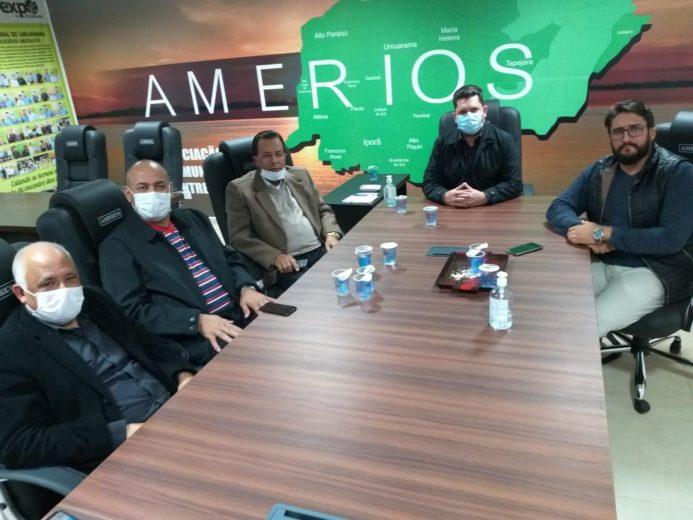 Pastores evangélicos participam de  reunião na Amerios e vão reabrir igrejas