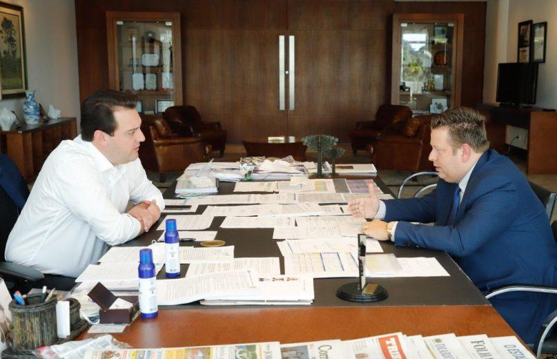 Governador discute com presidente da AMP, retomada gradual para o enfrentar a pandemia