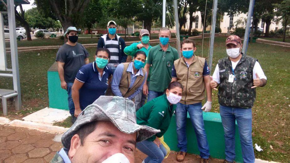 Arrastões e outras ações combatem a dengue em Esperança Nova