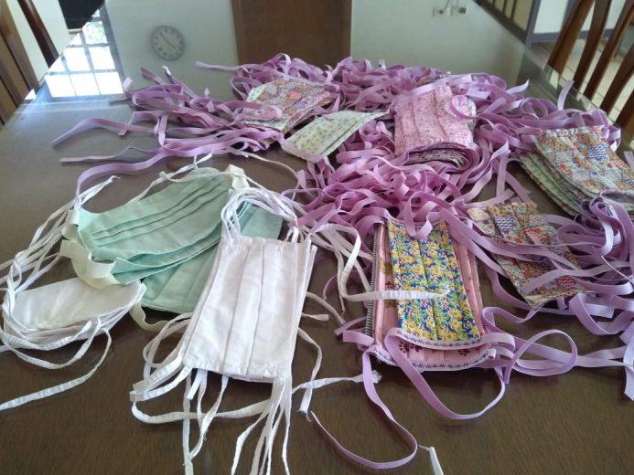 Campanha arrecada tecido  para confecção de 3 mil máscaras