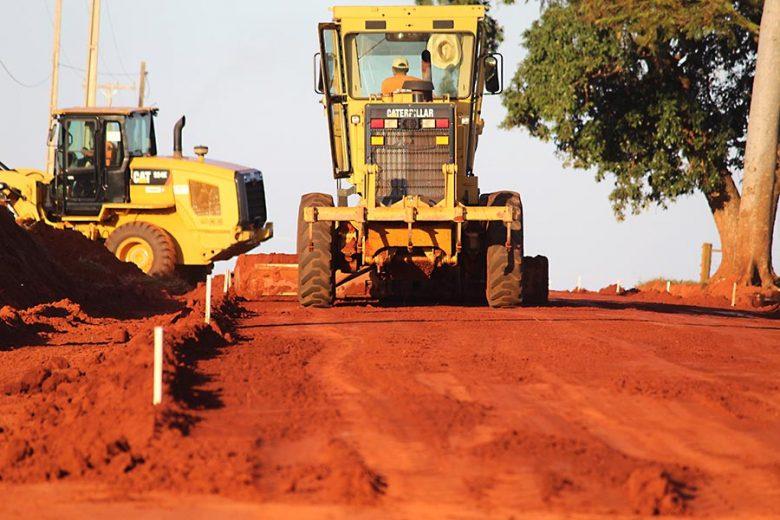 Estrada rural de São Jorge do Patrocínio é pavimentada