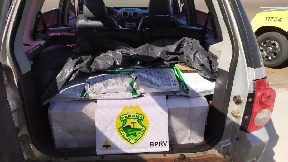 Veículo carregado com veneno é apreendido pela PRE em Iporã