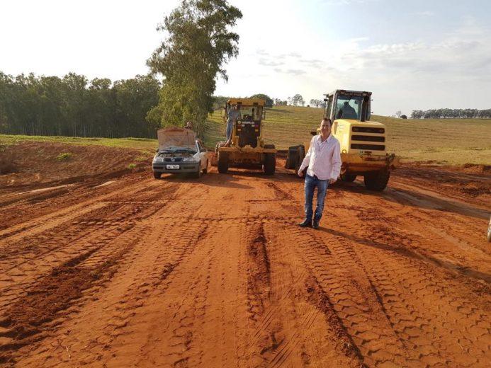 As melhorias nas áreas rurais de Esperança Nova não param