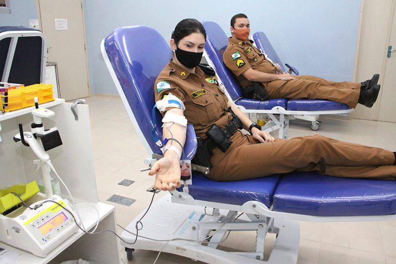7º BPM comemora 52 anos com campanha de doação de sangue